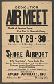 View Dedication Air Meet Benefit of American Legion Five Posts in Monmouth County digital asset number 1