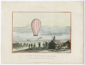 View The Natives of Torneȁ Lapmark, afsembled [sic] at Enontekis, to witnefs [sic] the launching the first Balloon within the Arctic Circle. digital asset number 0