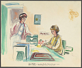 View Nurse and Secretary to the Astronauts digital asset number 0