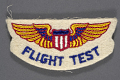 View Badge, Flight Test, War Training Service, Civil Aeronautic Administration digital asset number 0