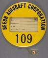 View Badge, Identification, Beech Aircraft Co. digital asset number 0