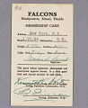 View Card, Membership, Falcons, Dean I. Lamb digital asset number 0
