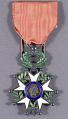 View Medal, Order of the Legion of Honor, France, Jacqueline Cochran digital asset number 0