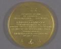 View Medal, National Geographic Society Medal, Floyd Bennett, 1926 digital asset number 1