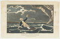 View Major Mony's Perilous Situation When he fell into the Sea July, 23, 1785, off the Coast of Yarmouth. digital asset number 0