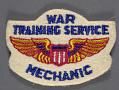 View Badge, Mechanic, War Training Service, Civil Aeronautic Administration digital asset number 0