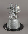 View Model, Rocket Engine, Liquid Fuel, J-2, 1:8 Scale digital asset number 0