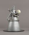 View Model, Rocket Engine, Liquid Fuel, J-2, 1:8 Scale digital asset number 3