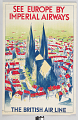 View See Europe by Imperial Airways The British Air Line digital asset number 0