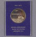 View Medal, 50th Anniversary Lakehurst Naval Air Station Medal digital asset number 0