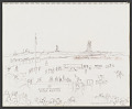 View Drawing, Pen and Ink, Pastel on Paper digital asset number 1