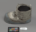 View Boot, Left, Lunar Overshoe, Cernan, Apollo 17, Flown digital asset number 11