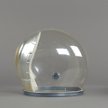 View Helmet, Pressure Bubble, Eisele, Apollo 7 digital asset number 7