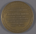 View Medal, National Geographic Society Hubbard Medal, Lincoln Ellsworth digital asset number 2