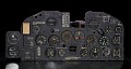 View Instrument Panel, P-47D-15 / XP-47H digital asset number 2