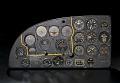 View Instrument Panel, Fairchild XBQ-3 Assault Drone (AT-21 Gunner modification) digital asset number 2
