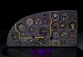 View Instrument Panel, Fairchild XBQ-3 Assault Drone (AT-21 Gunner modification) digital asset number 4