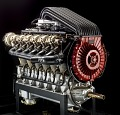 View Liberty 12 Model A (Packard), Moss Turbosupercharged, V-12 Engine digital asset number 12