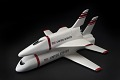 View Model, Space Shuttle, Grumman/Boeing G-3 2-Stage Fully-Reusable Concept, 1:192 digital asset number 0