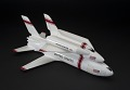 View Model, Space Shuttle,Grumman/Boeing H-33 2-Stage Parially-Reusable Concept 1:192 digital asset number 0