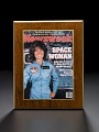 View Plaque, Newsweek, Space Woman Cover, Sally Ride digital asset number 0