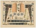 View Petites Constructions. Aéroplane Monoplan avec lequel Blériot traversa la Manche. Imagerie D'Épinal, No. 1375. digital asset number 0