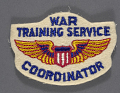 View Badge, Coordinator, War Training Service, Civil Aeronautic Administration digital asset number 0