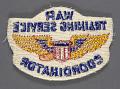 View Badge, Coordinator, War Training Service, Civil Aeronautic Administration digital asset number 2
