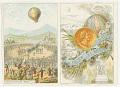 View No. 1. Les Fréres Montgolfier; No. 2. 1re Expérience a Annonay. digital asset number 0