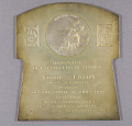View Plaque, Aero Club of France, Frank Lahm, 1906 digital asset number 0