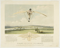 View The Aerostat,--Worked by Manual Power--Invented by W. Miller, M.R.C.S. digital asset number 0