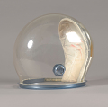 View Helmet, Pressure Bubble, Lovell, Apollo 8, Flown digital asset number 0