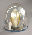 View Helmet, Pressure Bubble, Lovell, Apollo 8, Flown digital asset number 6