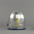 View Helmet, Pressure Bubble, Young, Apollo 10 digital asset number 6