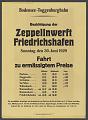 View Bodensee-Toggenburgbahn Besichtigung der Zeppelinwerft Friedrichshafen digital asset number 1