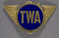 View Badge, Cap, Station Manager & Foreman, Transcontinental & Western Air Inc. (TWA) digital asset number 0