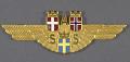 View Badge, Ground Crew, Scandinavian Airline System (SAS) digital asset number 0