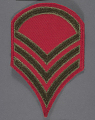 View Insignia, Rank, Staff Sergeant, Civil Air Patrol (CAP) digital asset number 0