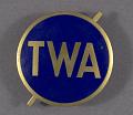 View Badge, Cap, Mechanic, Transcontinental & Western Air Inc. (TWA) digital asset number 0