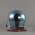 View Helmet, Pressure Bubble, Bean, Apollo 12 digital asset number 4