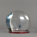 View Helmet, Pressure Bubble, Bean, Apollo 12 digital asset number 5