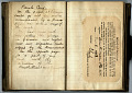 View Autograph Book and Diary of Zenos R. Miller (Diary 1) digital asset number 2