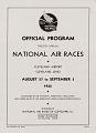 View 1932 National Air Races  (Cleveland), Official Program digital asset number 4