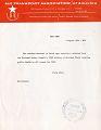 View Air Transport Association of America (ATA), Information Bulletins digital asset number 1
