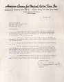 View Correspondence -- American Bureau for Medical Aid to China digital asset number 2
