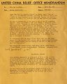 View Correspondence -- United China Relief Memos digital asset number 1