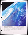 View STS-76 Earth Observations Training Manual [KidSat], (folder 1 of 2) digital asset number 3