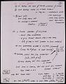 View Miscellaneous Ride Handwritten Speech Notes, (folder 1 of 3) digital asset number 7