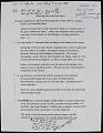 View Miscellaneous Ride Handwritten Speech Notes, (folder 3 of 3) digital asset number 1