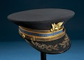 View Cap, Dress, United States Army Air Corps, Gen. Ira Eaker digital asset number 2